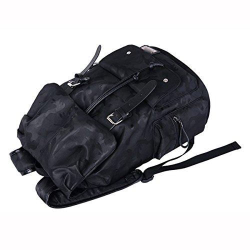 Backpackers Manera GEDTFC Ocio Bolso Black Bolso De De Bolsos Los Hombro Estudiante del Hombres De De Computadora La Black De La De Los P6wPrCxqR