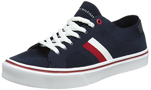 Tommy Hilfiger Sneaker 403 midnight Bleu Basses Lightweight Corporate Homme Sneakers TpqSwTr