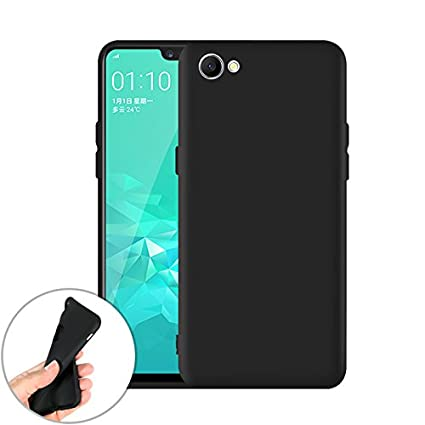 online store 1a0b6 15f5e SmartLike Matt Candy Back Cover for Oppo A3s - Black: Amazon.in ...