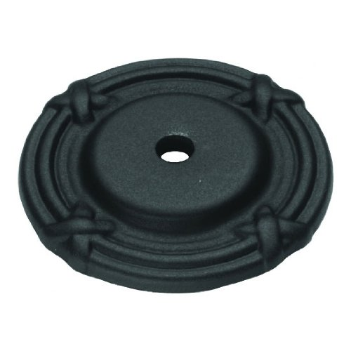 Belwith Ribbon & Reed Knob M306-10B Oil Rubbed Bronze Backplate