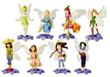 Disney Fairies Tinker Bell and Friends Figures Set - Series 1 Complete Collection (set of 8) - Vending Machine Toys