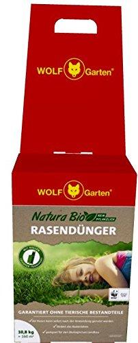 Wolf Garten Natura Bio Rasendünger Nr A 108 Für 160 M²