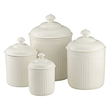 Mikasa Italian Countryside 4-Piece Canister Set