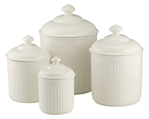Mikasa Italian Countryside 4-Piece Canister Set by Mikasa