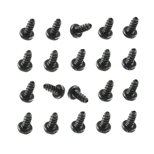 BisLinks-Black-Set-of-Screws-20pcs-Replacement-Part-for-Sony-Playstation-4-PS4