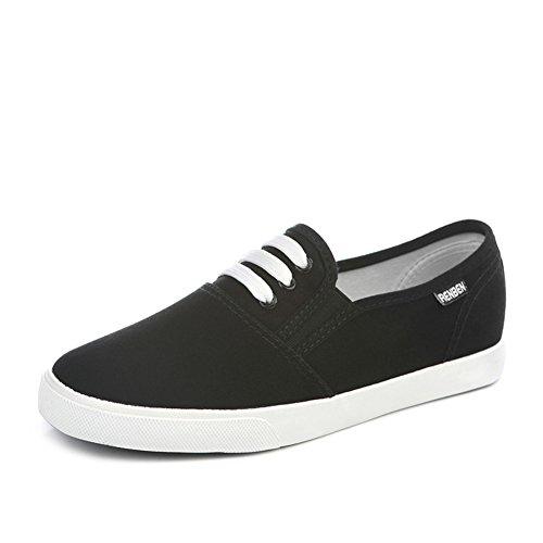 Zapatos de lona plana perezoso de ventilación de verano/Zapatos ocasionales del estudiante con un pedal B