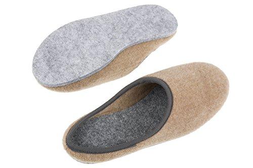 Gibra Pantofole Beige Gibra Per Per Donna Pantofole Donna Beige Tgxrp7T
