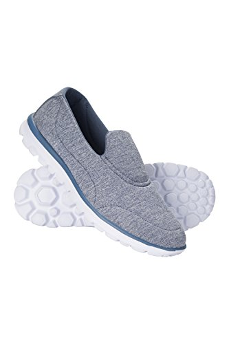 Mountain Warehouse Lighthouse Womens Shoes - Ladies Summer Trainers Blue