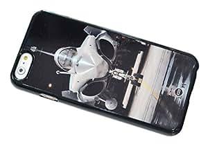 1888998690897 [Global Case] Sello Naval Fuerza Delta Fuerzas Especiales Avión de combate DQO Llamado del deber Campo de batalla GIGN RAID MI6 MI5 Fuerza Aerea Misiles Aeronave Joint Strike Fighter F14 F18 F16 Harrier Aviones de combate (TRANSPARENTE FUNDA) Carcasa Protectora Cover Case Absorción Dura Suave para Apple iPhone 6+ [5.5 inch]
