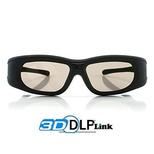 2x 3D Active Shutterbrille für 3D Beamer -