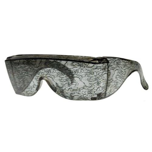 zeroUV - Designer Inspired Large Oversized Shield Wrap Around Lace Sunglasses - Sunglasses Rihanna
