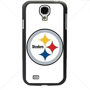 NFL American football Pittsburgh Steelers Samsung Galaxy S4 SIV I9500 TPU Soft Black or White case (Black)