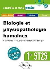 Biologie & Physiopathologie Humaines Première ST2S Conforme au Programme 2012