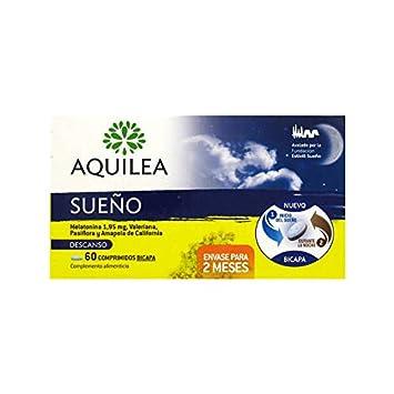 AQUILEA SUEÃO MELATONINA 1.95 + VALIANA + PASIFLORA + AMAPOLA DE ...