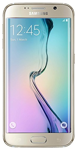 Samsung Galaxy S6 Edge G925I Unlocked Phone - Retail Packaging - Gold Platinum by Samsung