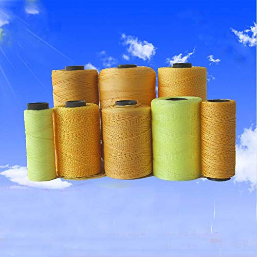Laliva 200M 500M 800M Kite line Two Shares & Two-Color Three Strands tire wear Nylon Thread line Wholesale Kevlar line - (Color: Color Random 500M) by Laliva