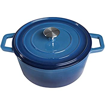 Amazon.com: 2 QT Cast Aluminum Dutch Oven/Pot with Heating