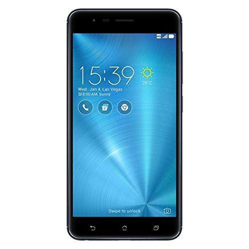 ASUS ZenFone 3 Zoom ZE553KL 4GB RAM / 64GB ROM 5.5-Inch Dual SIM Factory Unlocked International Stock No Warranty (Navy Black)