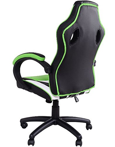 41Wwp4JRS1L - KA-Company-Chair-Style-High-Back-Gaming-Racing-Ergonomic-Office-Leather-Pu-Swivel-Computer-Executive-360-Degree-5-Wheels-Mesh-Bucket-Seat