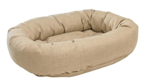 Bowsers Donut Bed, Small, Flax