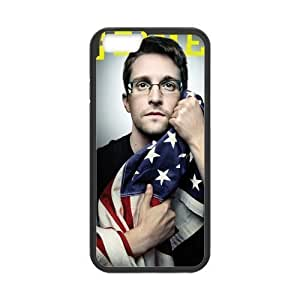iPhone 6 Case, [Edward Snowden] iPhone 6 (4.7) Case Custom Durable Case Cover for iPhone6 TPU case(Laser Technology)