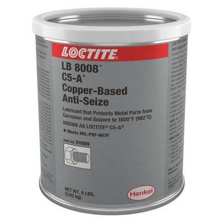 Anti-Seize Compound, 8 lb, Can, LB 8008 by Loctite