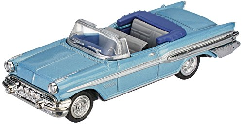 1957 Pontiac Convertible (NewRay City Cruiser Collection 1957 Pontiac Bonneville Convertible, Teal, 1:43 scale, 2004)