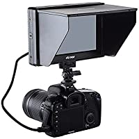 Viltrox 7 DC-70 Clip-on Color TFT LCD Monitor HDMI AV Input 1280x800 for DSLR