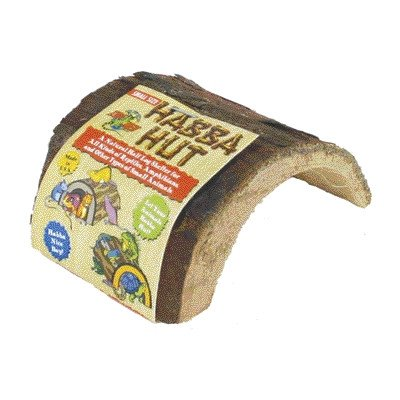 Habba Hut for Terrariums [Set of 2] Size: Medium (5'L x 5.5'W x 3'H) Zoo Med
