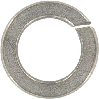 (4000pcs) DIN 128 M3.5 Curved Spring Lock Washers type A AISI 301A Stainless Steel, Ships FREE in USA by Aspen Fasteners, ASSP0128235