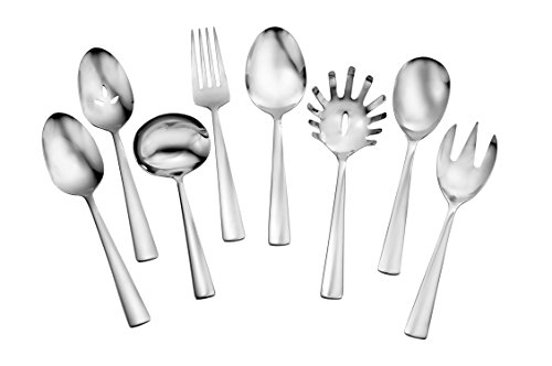(Oneida Chef's Table Dinnerware and Flatware Separates (8-Pc Serve Set FW))