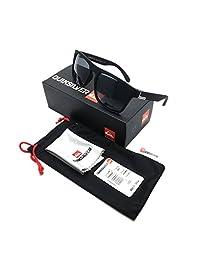 OUYAWEI - anteojos de Sol para Hombre y Mujer, protección UV400, Ligeras, visión Limpia, 17