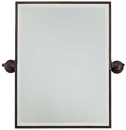 Amazoncom Minka Lavery Rectangular Bath Mirror Standard - Minka lavery bathroom mirrors