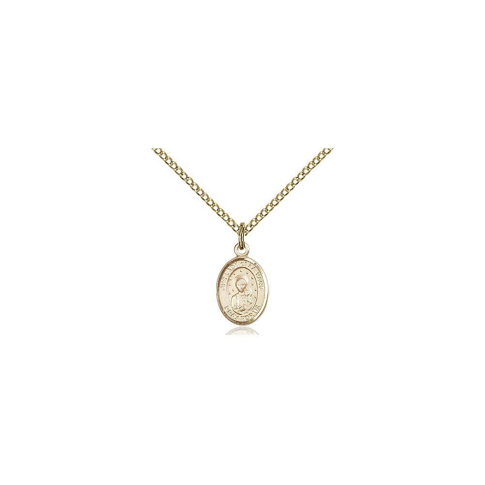 DiamondJewelryNY 14kt Gold Filled O//L of La Vang Pendant