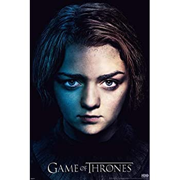 Amazon.com: Game Of Thrones – Arya Stark Cartel TV Arte ...