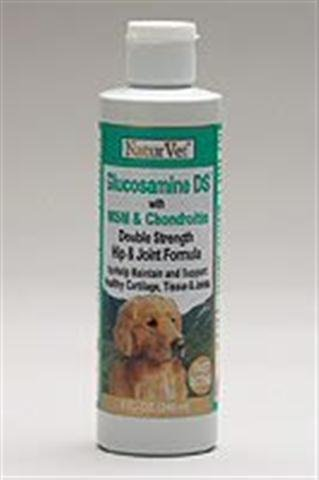 NATURVET 978069 Glucos-Ds with Msm Liquid Stage 2 for Pets, 8-Ounce
