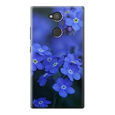Forget me not Etui Coque Housse pour Sony Xperia L2