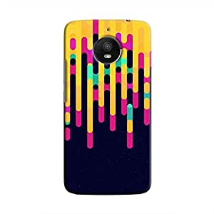 Cover It Up - Dripping Yellow Moto E4 PlusHard Case