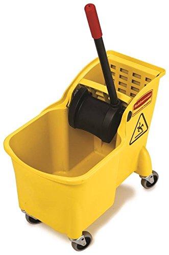 UPC 086876222104, Rubbermaid Wringer Bucket 31 Qt Yellow