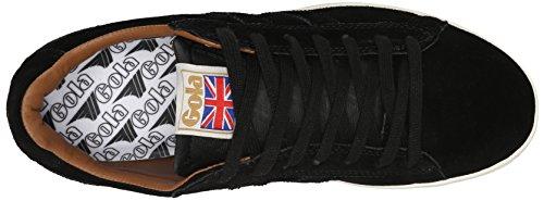 Zapatillas De Deporte Gola Mujeres Cla495 Equipe Suede Black