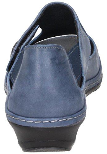 Comfortabel Donna-sandale Blau 710873-5 Blu