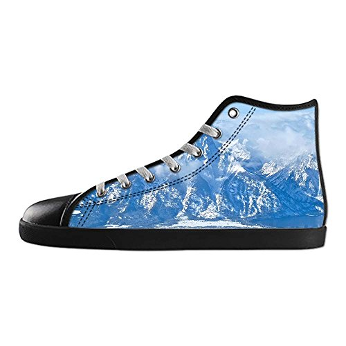 Dalliy Montagne Sneakers Top Panno A B High Lace Vela Shoes Up S Canvas Innevate Men' Di Scarpe Tela rr5qRwS