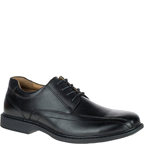 Hush Puppies Mens Pender Spy Pelle Nera