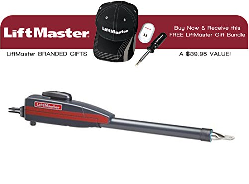 (LiftMaster LA400DC Residential DC Linear Primary 24VDC Single Actuator Arm & Receive A Free Liftmaster Gift Bundle (Baseball Cap, Dual USB Charger & 4 in 1 Screwdriver))