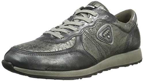 Warm EU Femme 42 Gris Weiß Alusilver Sneak Ladies Basses Alusilver50149 Ecco Baskets Grey p6vqW
