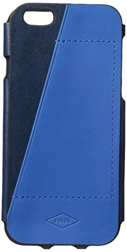 Fossil Men's IPhone 6 Case, Blue, One Size (Iphone 6 Fossil)