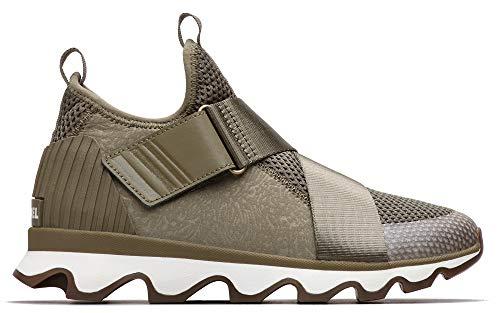 SOREL Womens Kinetic Sneak MESH-Sage Sporty-Chic Sneaker 8.5M US