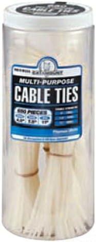 Black Thomas /& Betts Ty-Rap 90650IUV Cable Tie Jar