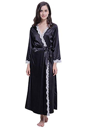 Long Black Lace Trim - 3