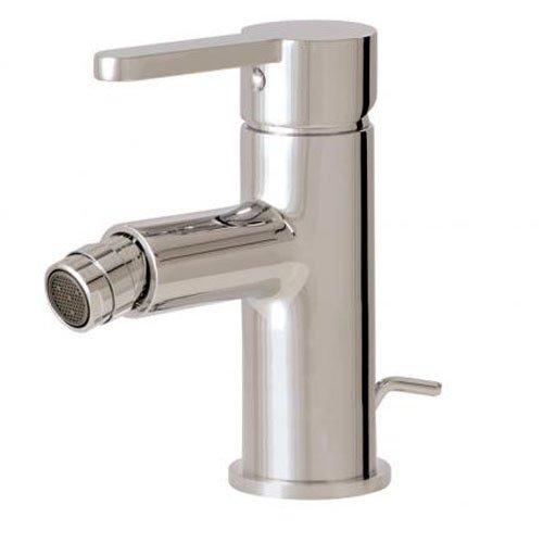 Aqua Brass Cabrio Single-Hole Bidet Faucet W/Swivel Spray CABRIO 89024PC Bidet (Aqua Brass Swivel Faucet)